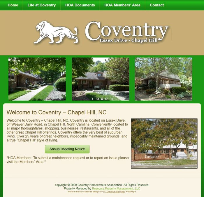 Coventry Homeowners' Association