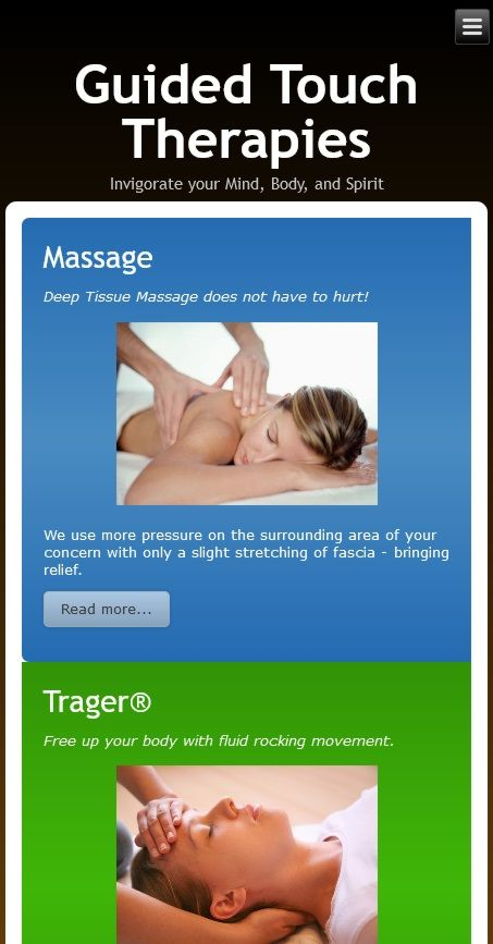 Guided Touch Therapies mobile